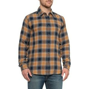 Frye Brand Eclipse Plaid Button up Long Sleeve Top